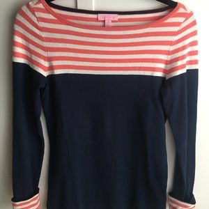 Lilly Pulitzer Maria Boatneck sweater NEVER WORN